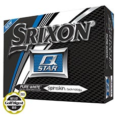 Q-STAR GOLF BALLS,Pure White