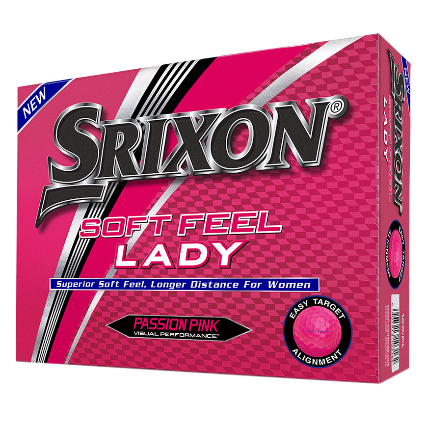SOFT FEEL LADY GOLF BALLS,Passion Pink